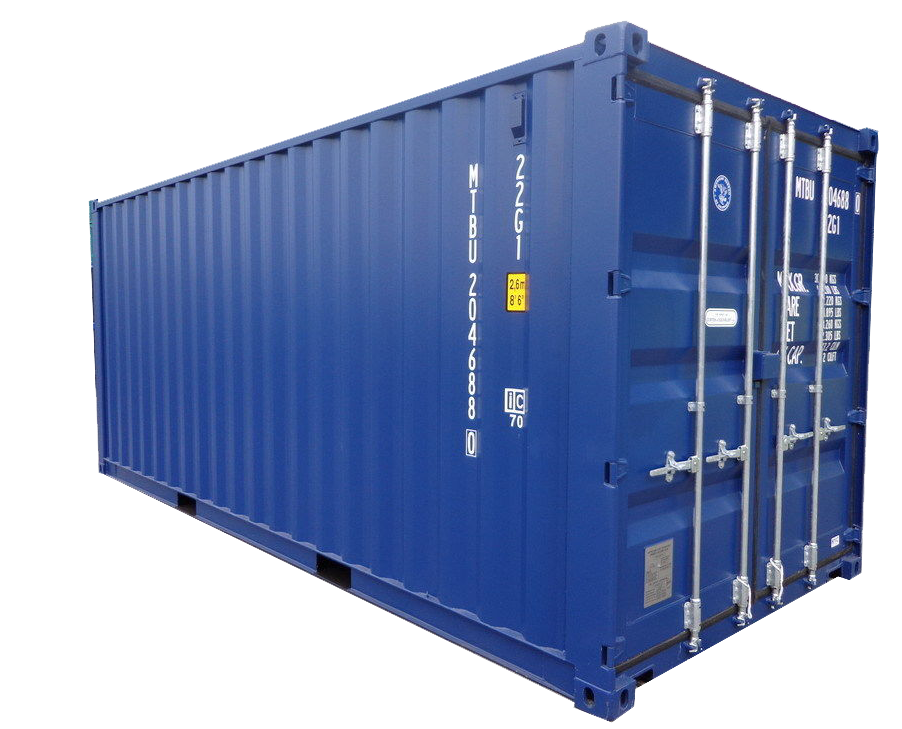 egg self storage units carlisle container blue